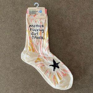 Socks, MF Girl Power